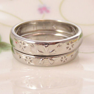 結婚指輪オーダーメイド事例
