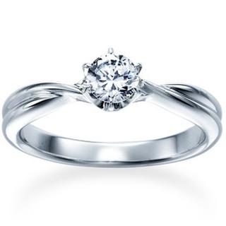 シンプル婚約指輪