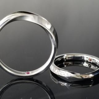 0050 / S9334 輝きが美しいくオリジナルデザインの結婚指輪
