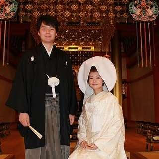 【和婚】をお考えのカップルへオススメ!世界遺産挙式のお見積例