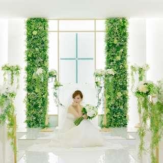 ~キリスト挙式+披露宴プラン~【花嫁憧れの人気のスタイル!】
