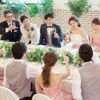 【通年ご利用可能】8名290,000円家族婚プラン