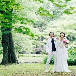 【日比谷公園・東京タワー】当日前撮りプラン