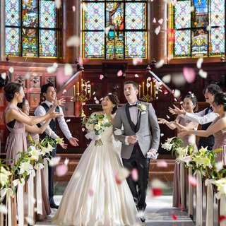 【オススメplan】大聖堂で本格挙式!衣装や写真も充実プラン