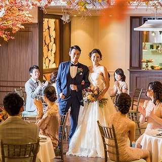 【2019年9~11月末までのご結婚式】AUTUMN PLAN