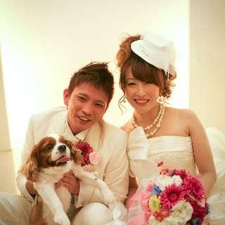 【10周年記念】Love Pet Weddingプラン【70名】