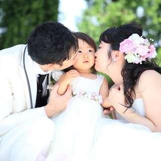 お値打ち価格でお子さまとの結婚式を応援!FAMILYPLAN