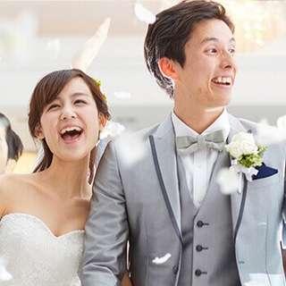 5月、6月の結婚式が衣装など全て含んで3万3,500円で叶う