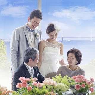 【挙式+6名会食¥10万】大切なご家族とアットホーム挙式会食