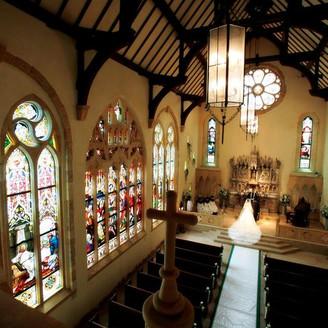 ステンドグラス美術館内にあるセント・ラファエル礼拝堂