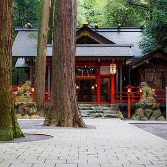 鈿女本宮「椿岸神社」(挙式会場)