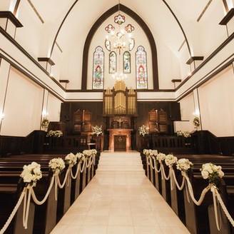 イギリスから譲り受けた本物の教会