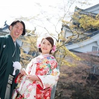 龍城神社で結婚式