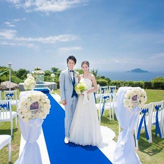 「神島」に永遠の愛を誓えるのも結婚の聖地伊良湖岬ならでは。