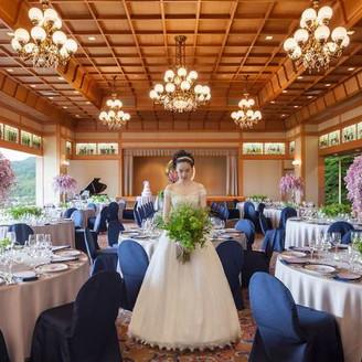 世界各国のVIPの交流の場として使用されてきた、京都を代表する会場「葵殿」