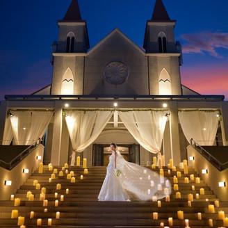 開放感がある天空のチャペルにての結婚式!完全貸切プレミアムウェディング!!