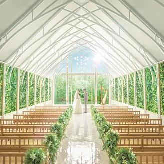【2019年8月】緑×光×木の自然を感じるNEWチャペルがグランドオープン!