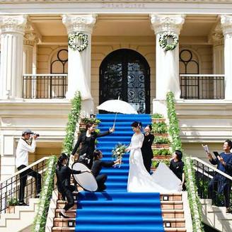 花嫁の美しさを最大限に引き出すための内容が充実した会場。