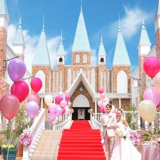 【花嫁の憧れが叶うお城】栃木県内でも有数のスケールを誇る花嫁の夢がいっぱいのセントローゼス。