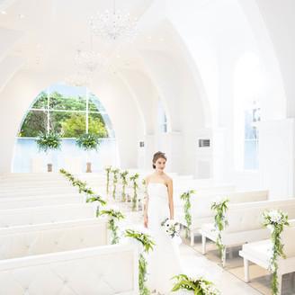 美しい花嫁をより一層輝かせるチャペル