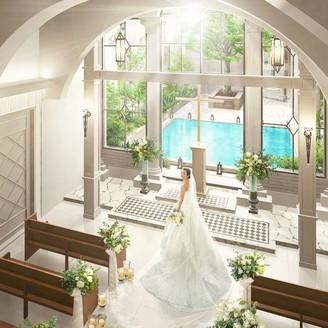 2017年1月、異国情緒あふれる街・元町に佇む「迎賓館」に優しい陽光と水が奏でる新チャペルが誕生!