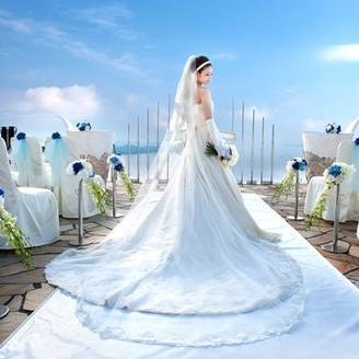 地中海を思わせる素晴らしい世界。 「徳島」で「結婚式」を挙げるなら 「グランドエクシブ鳴門」へ。