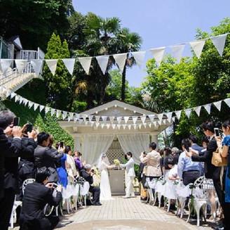ガーデン挙式(教会式or人前式)