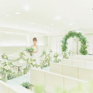 【名古屋】グリーンのコーディネートで爽やかな印象に