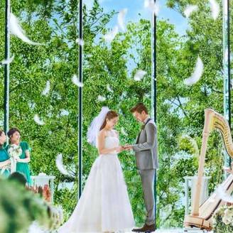 愛を誓い、約束を交わす瞬間。二人の幸せを願い、永遠に色あせることのない物語が始まります...※イメージ