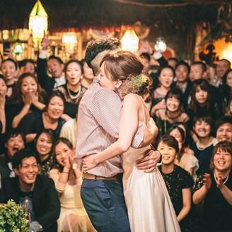 カジュアルパーティーもハルヒウエディングにお任せください♪ゲストの笑顔がキラキラ光る結婚式★