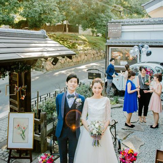 京都の風情を存分に味わえるロケーションでオリジナル婚を
