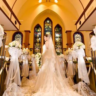 バージンロードと花嫁
