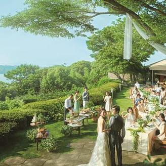 ガーデンウェディングや挙式も可能