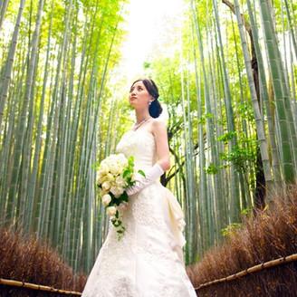 世界から愛される「嵐山」で、永遠の愛を誓う。