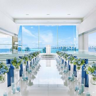 海のみえるガラスのチャペル②