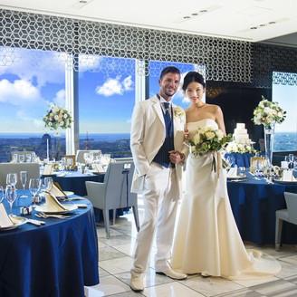 地上130m ホテル30階「La Sora」で叶えるONLY SPECIAL WEDDING