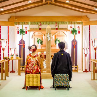 館内神殿での和装結婚式は人前式も人気です!