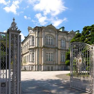 【クラシックな本物の迎賓館】重厚感があり、格式高い雰囲気は、これまでに公賓や国賓をもてなしてきた、歴史を感じる風格。