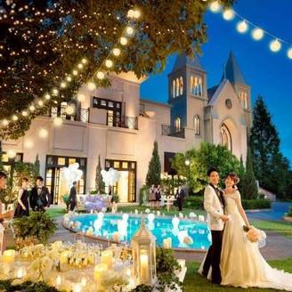 プリンセスになりたい花嫁の願いを叶える魔法のステージがここに!