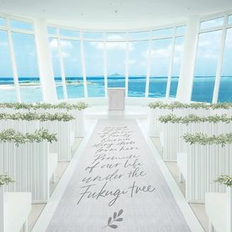 エメラルドビーチを望む、沖縄初のデザイナーズチャペル