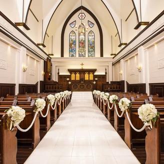 イギリスから譲り受けた教会