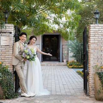 入り口から貸切れる「ゲストハウスウエディングMarry Gold」