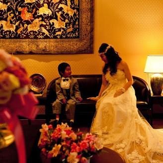 『花嫁』でいられる時間を大切に・・・ 家族・友人・大切な方とゆっくり過ごして頂ける空間をご用意致します。