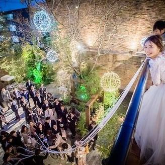 挙式後のブーケプルズも人気です♪「徳島」で「結婚式」なら「ノビアノビオ」