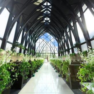 京都市内最大級、天井高13Mの木造チャペル