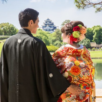【晴れの国】岡山を代表する後楽園挙式  四季折々の景色を愛でる、厳かな雰囲気が 本物志向の花嫁に支持されている