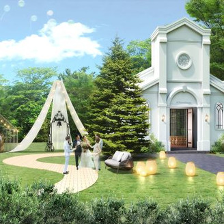 【NEWS】2019年6月リニューアルオープン!長崎市内唯一の独立型チャペル。木々の緑溢れるプライベートガーデンでは、挙式後のアフターセレモニーが人気♪