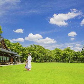 歴史紡ぐ大阪城の麓、2万坪のスケールで自然が広がる非日常のロケーション