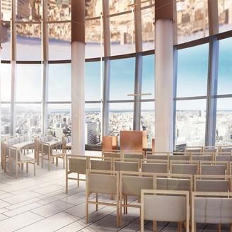 2018年春 地上100m・ホテル最上階に新チャペル誕生!