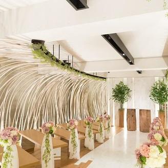竹とアイビーに囲まれた上質な空間☆檜のフレグランスで更に特別感を演出♪